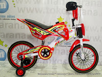 Sepeda Anak Exotic BMX Motocross 16 Inci