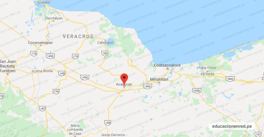 Temblor en México de Magnitud 4.4 (Hoy Domingo 27 Octubre 2019) Sismo - Epicentro - Acayucan - Veracruz de Ignacio de la Llave - VER. - SSN - www.ssn.unam.mx