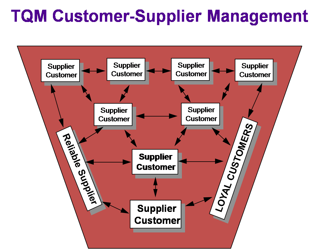 tqm supplier partnership Definition: developing collaborative supplier partnerships larger organizations are becoming more dependent on suppliers supplier partnerships.