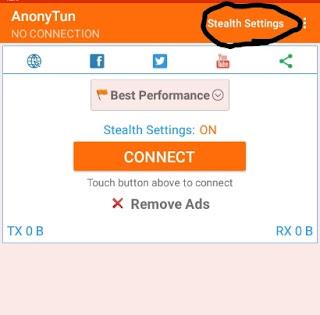 AnonyTun VPN Free Browsing