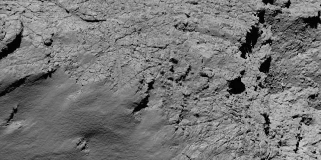 Wahana Luar Angkasa yang Luar Biasa Indahnya, Rosetta yang Menghantam Komet Berhasil Mengabadikanya