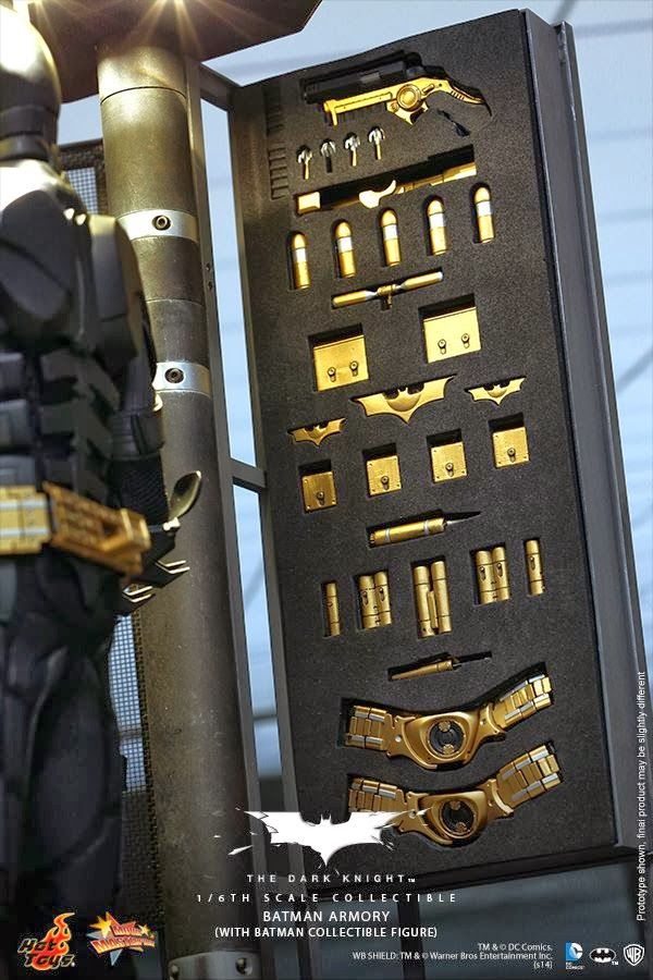 adaptation plastique hot toys batman