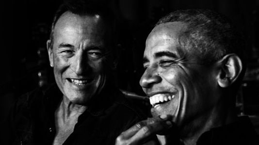 SPRINGSTEEN Y OBAMA JUNTOS EN UN PODCAST