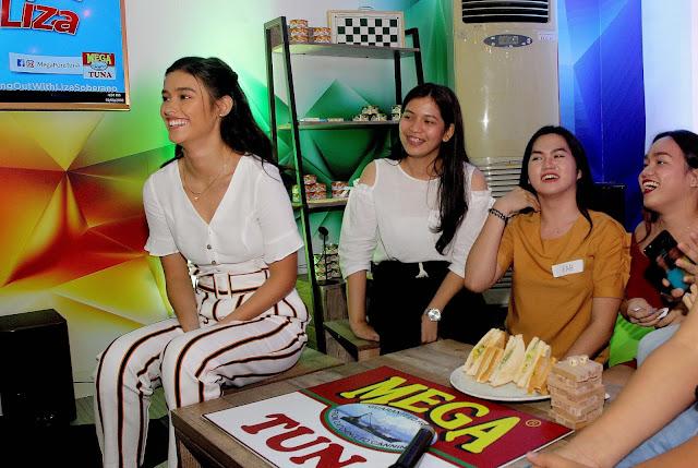 Mega Tuna creates a bonding experience with Liza Soberano