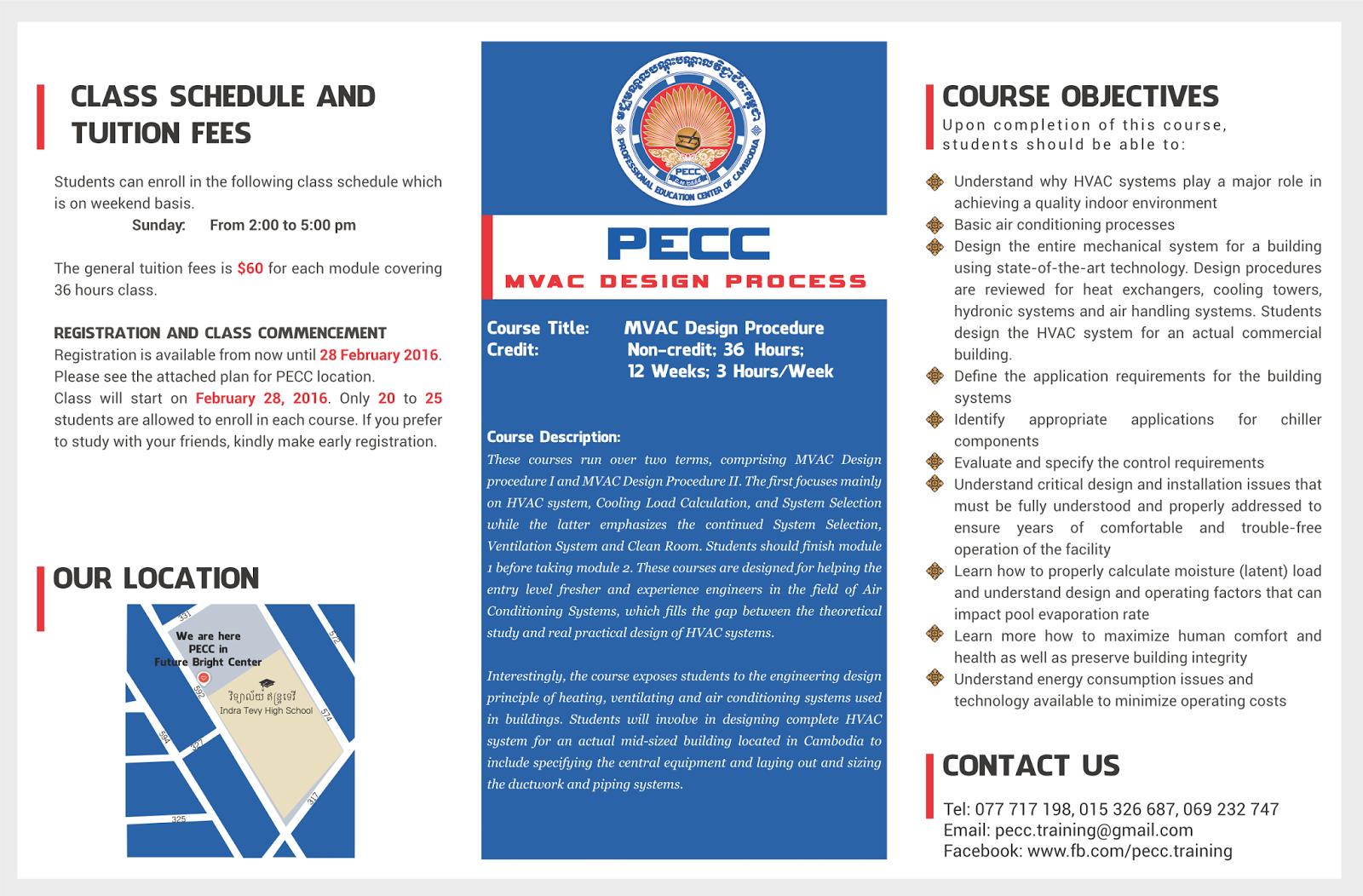 MVAC System Design   PECC