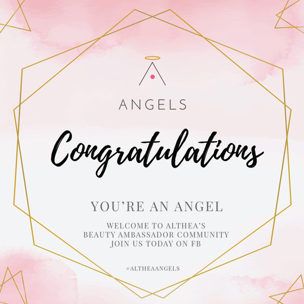 ALTHEA'S ANGELS BEAUTY AMBASSADOR COMMUNITY WELCOME GIFT