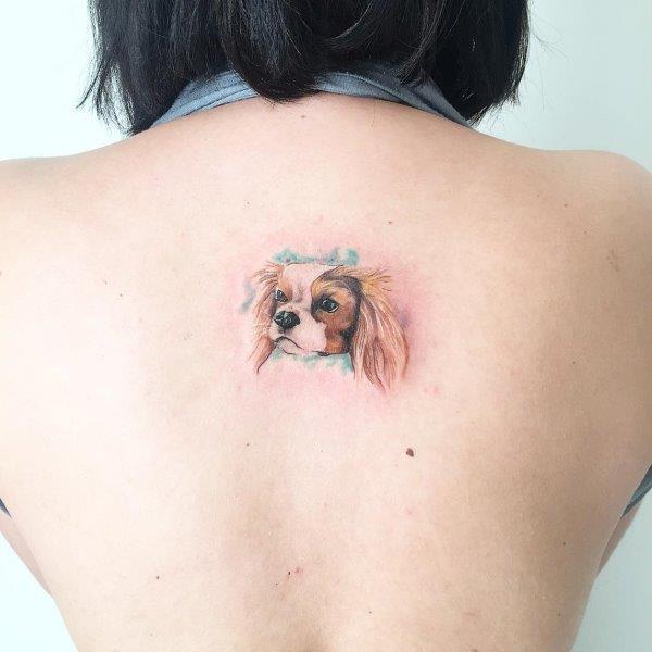 Cavalier King Charles Spaniel Tattoo