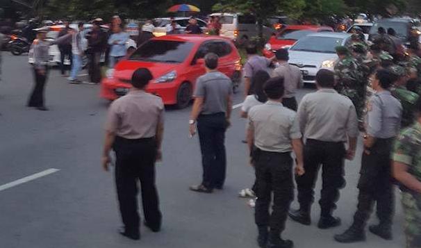 Lagi! Tak Punya Izin, Aksi 1.000 Lilin di Pontianak Dibubarkan Polisi