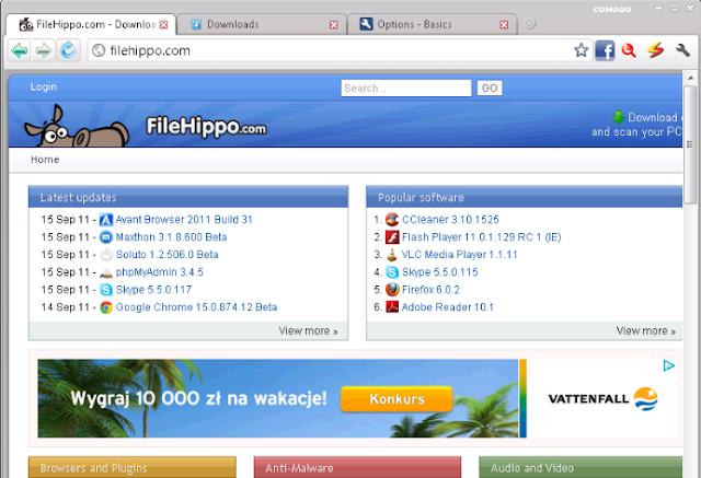 تحميل متصفح كومودو دراجون مجانا Comodo Dragon Internet Browser