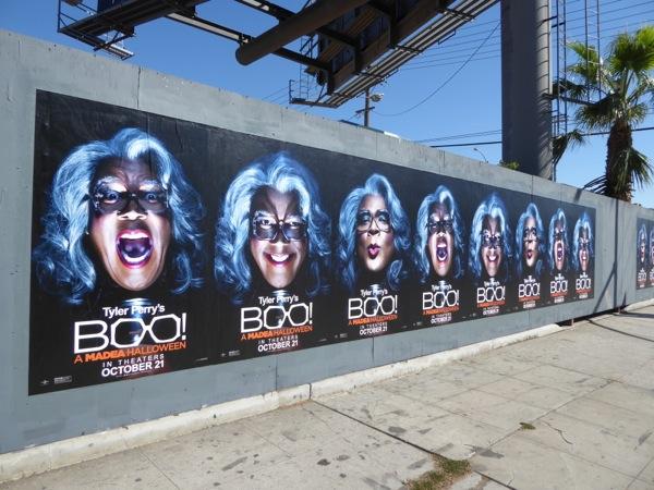 Boo A Madea Halloween street posters