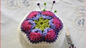 Alfileteros encantadores al crochet