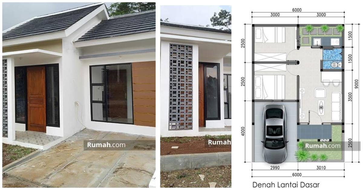 rumah minimalis ukuran 6x9 3 kamar