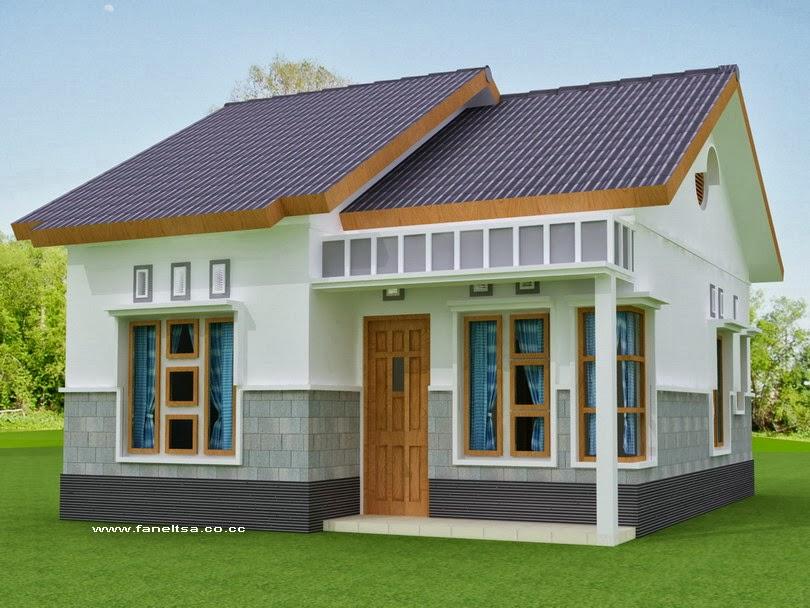 Contoh Rumah Minimalis Sederhana Type 45 Terbaru