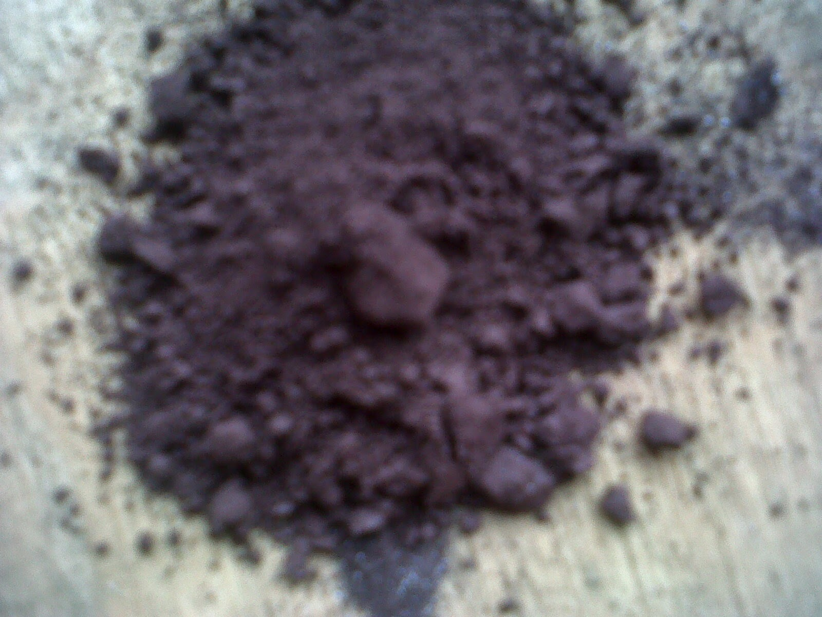 Hematite iron ore high density, Hematite iron ore of high specific gravity