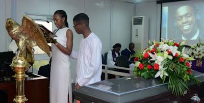 DJ Olu Abiodun's burial