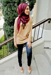model baju islamic dalam jadi trend