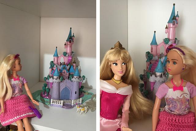 Marilyn, Princesa Aurora e o Castelo