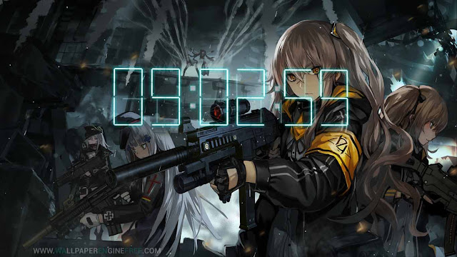 Girls Frontline 404 Squad Wallpaper Engine Full Free