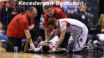5 Jenis Kecederaan Dan Asas Rawatan Dalam Sukan