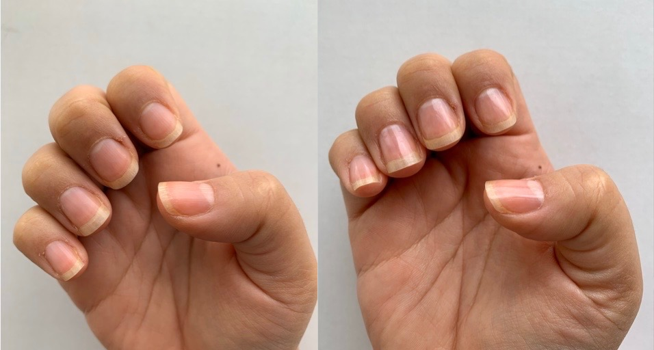 Non-toxic, zero-waste and sustainable nail polish look care (eco-friendly and vegan)