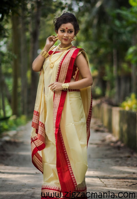How to drape a Sari in Bengali Style: Step by step tutorial