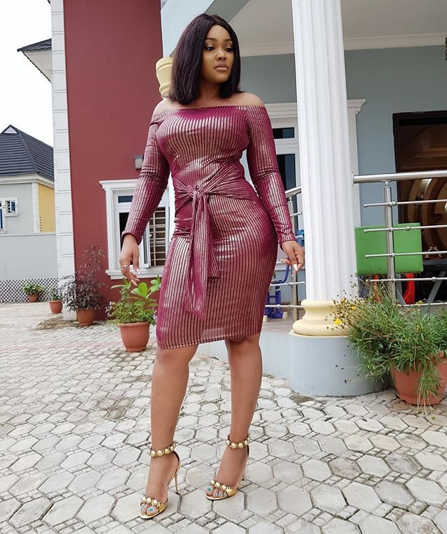 Mercy Aigbe Issa Goal In New Picture