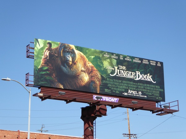 Jungle Book King Louie billboard