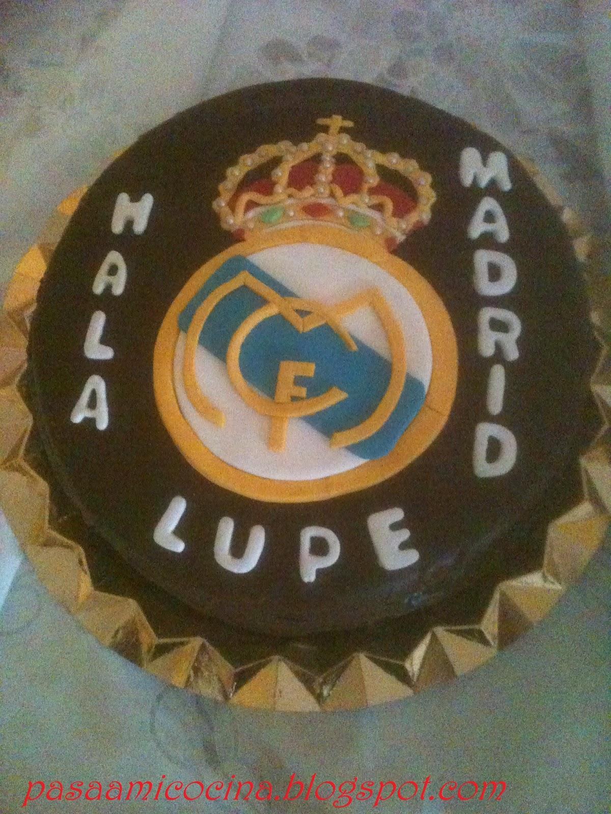Pasa A Mi Cocina Tarta Del Real Madrid