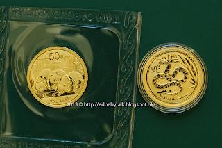 熊貓 金幣 當年 版