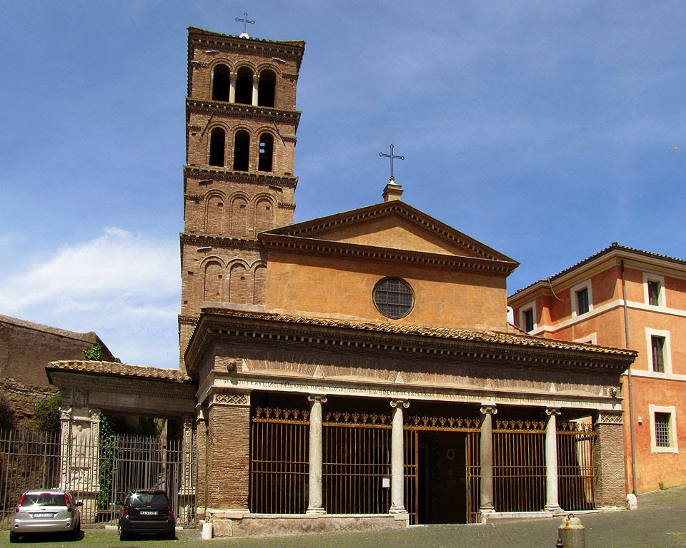 Church of San Giorgio in Velabro, via del Velabro, Rome