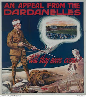 (poster) a call from the dardanelles