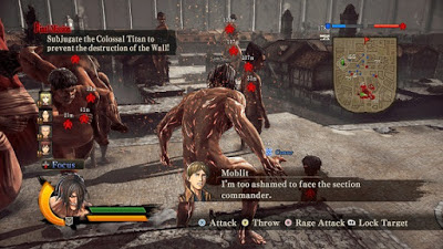 Attack on Titan Wings of Freedom Free Download Game PC Update v11 Latest Version