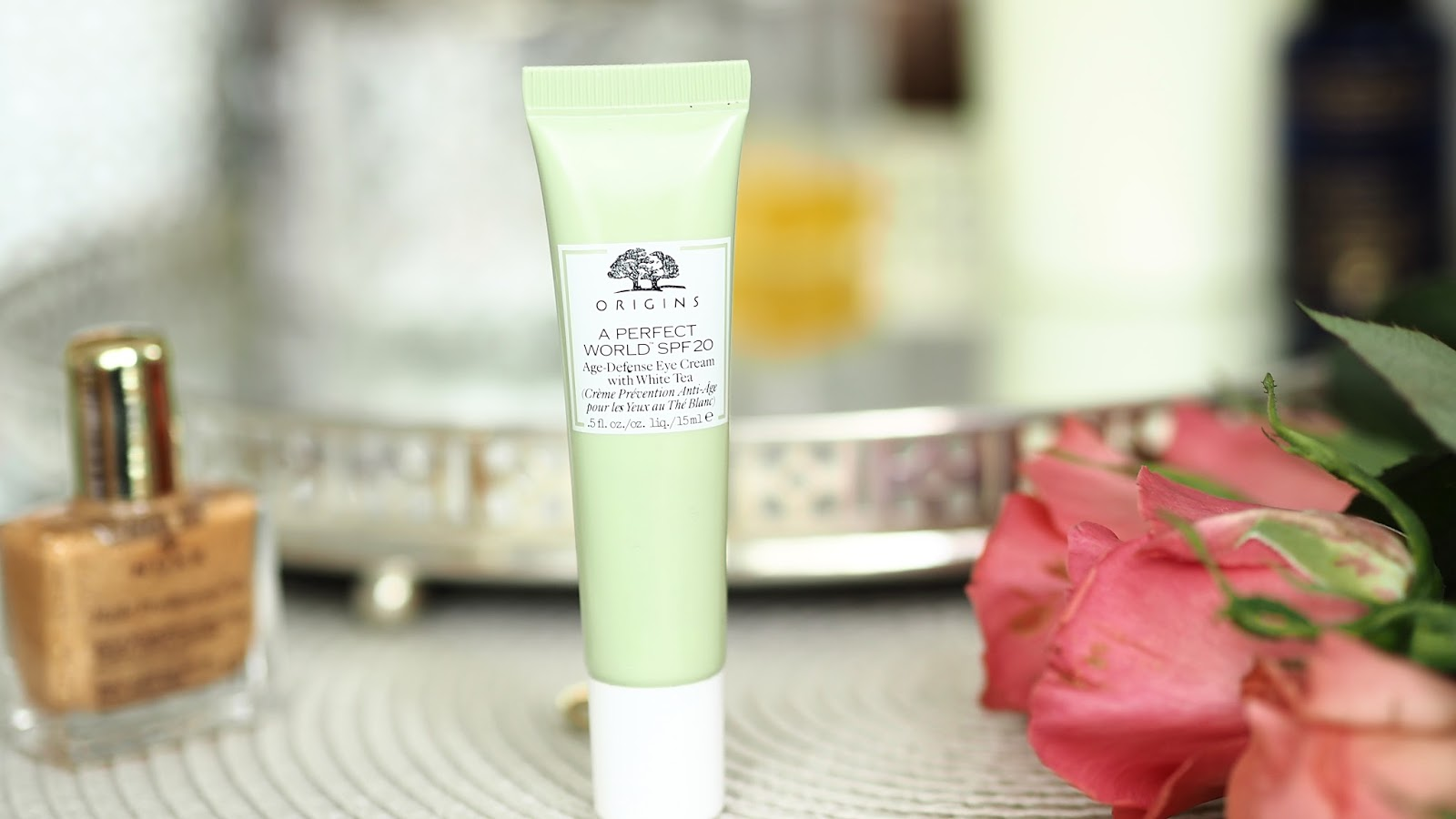 Origins age defines eye cream with white tea