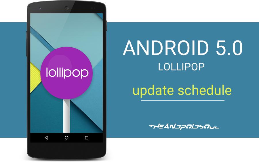 List of Android Smartphones Get's Uprage Lollipop 5.0
