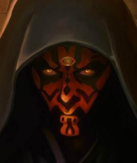 demonio de tres ojos con capucha