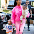 Kim Kardashian makes rare sighting with all three children as she takes North, Saint and Chicago out in NYC