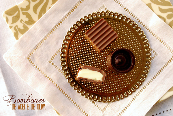 Bombones de Aceite de Oliva, chocolate blanco, chocolate negro, chocolate con leche, AOVE, Aubocassa
