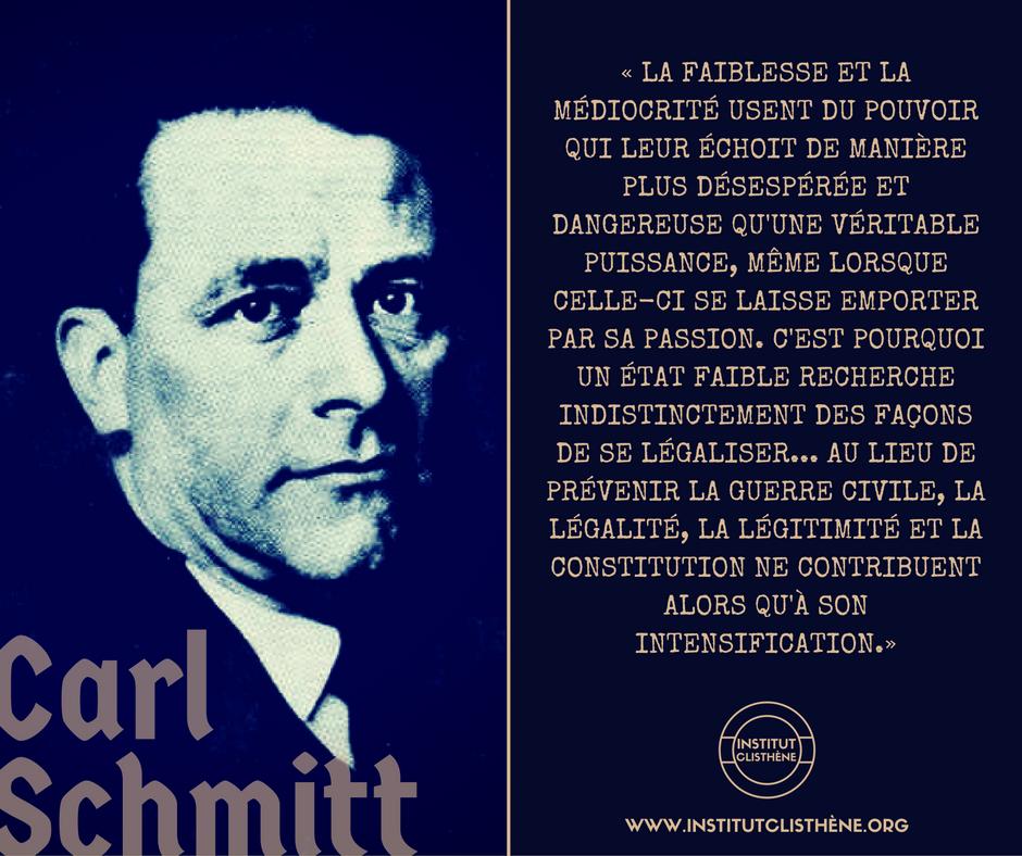 Carl Schmitt Krisis