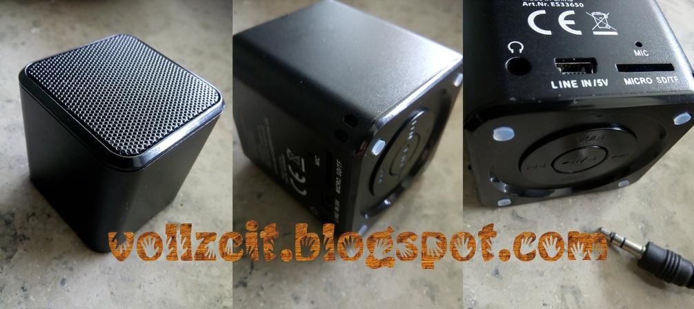 VollZeit TestZeit : Eurosell Mini Radio Bluetooth Lautsprecher im Test