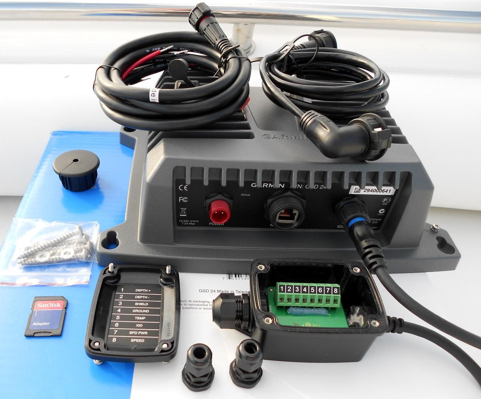 hight resolution of the marine installer s rant installing the garmin gsd 24 sounder module garmin gsd 22 wiring diagram