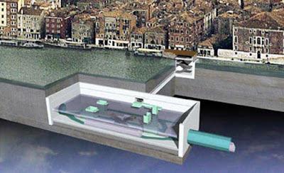 Progetto della metropolitana sublunare