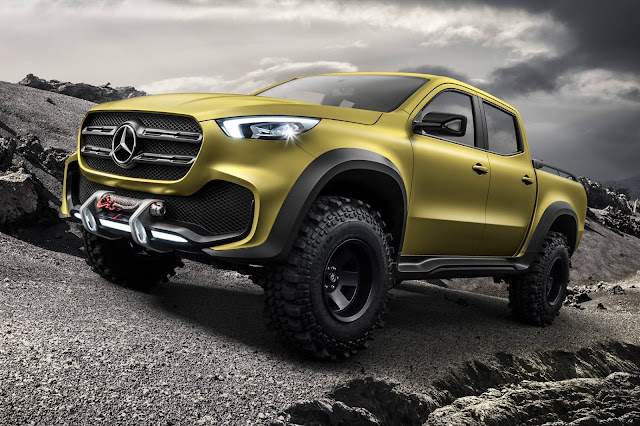 Mercedes Benz pickup