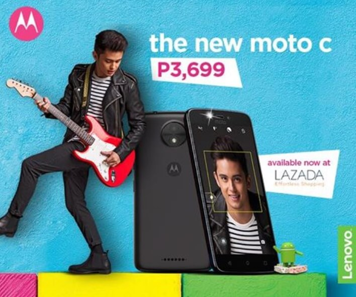 Moto C Now Available for Php3,699; 5-inch Quad Core Android Nougat