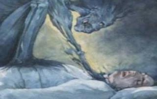 Ξύπνησες ποτέ στη μέση της νύχτας με αίσθημα παράλυσης; Δυστυχώς δεν κοιμάσαι μόνος τα βράδια