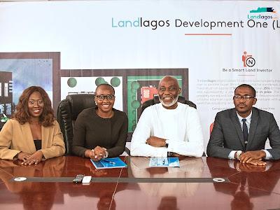 Veteran Nollywood actor, Richard Mofe-Damijo becomes Landlagos Brand Ambassador