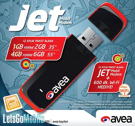 Download: AVEA JET MODEM DRIVER MF667