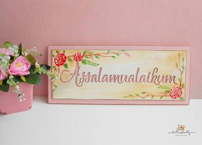 Aneka Wall Decor Rumah Shabby Chic Jakarta