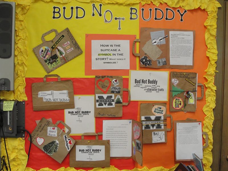 Reading Is Thinking Bud Not Buddy Projects
