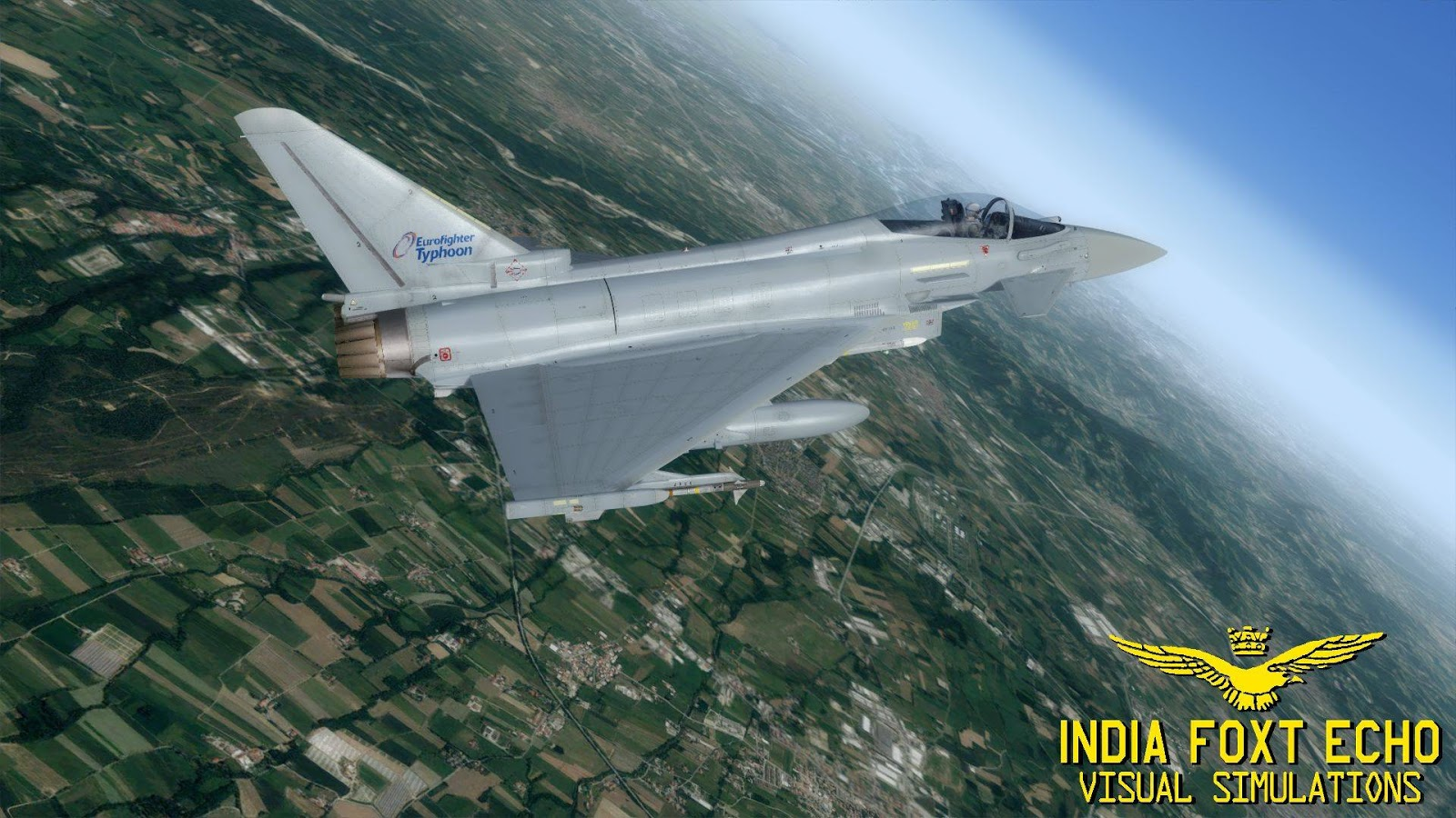 IndiaFoxtEcho Visual Simulations: Eurofighter Project (and a