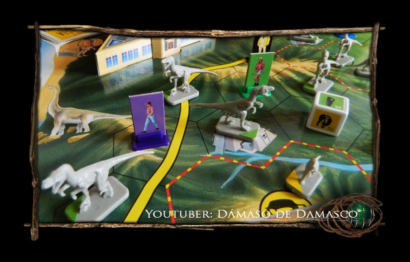 Juegos De Mesa Jurassic Park Parker Resena